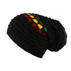 Bonnet Rasta Noir Kingston par Léon Montane