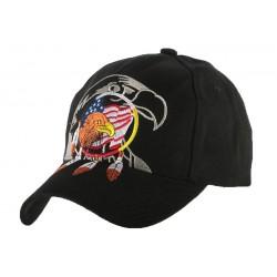 Casquette Baseball Biker Aigle USA