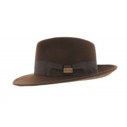 Chapeau Fedora Marron Goldwin par Herman