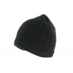 Bonnet Noir en laine Smalo par Herman