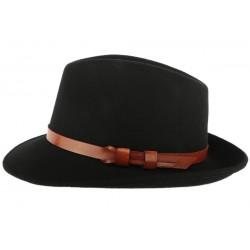 Chapeau Noir Fedora Raspail Léon Montane