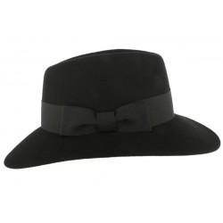 Chapeau Noir Femme en Feutre Stael