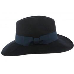 Grand Chapeau Femme Bleu Marine Ségur