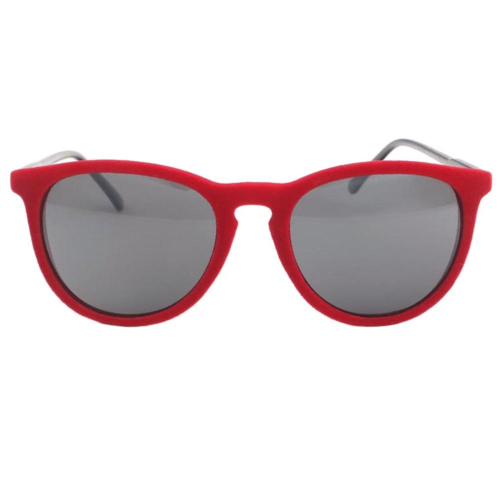 lunettes de soleil en velours rouge funky lunettes disco livr 48h. Black Bedroom Furniture Sets. Home Design Ideas