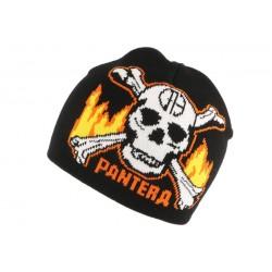 Bonnet biker Noir Pantera
