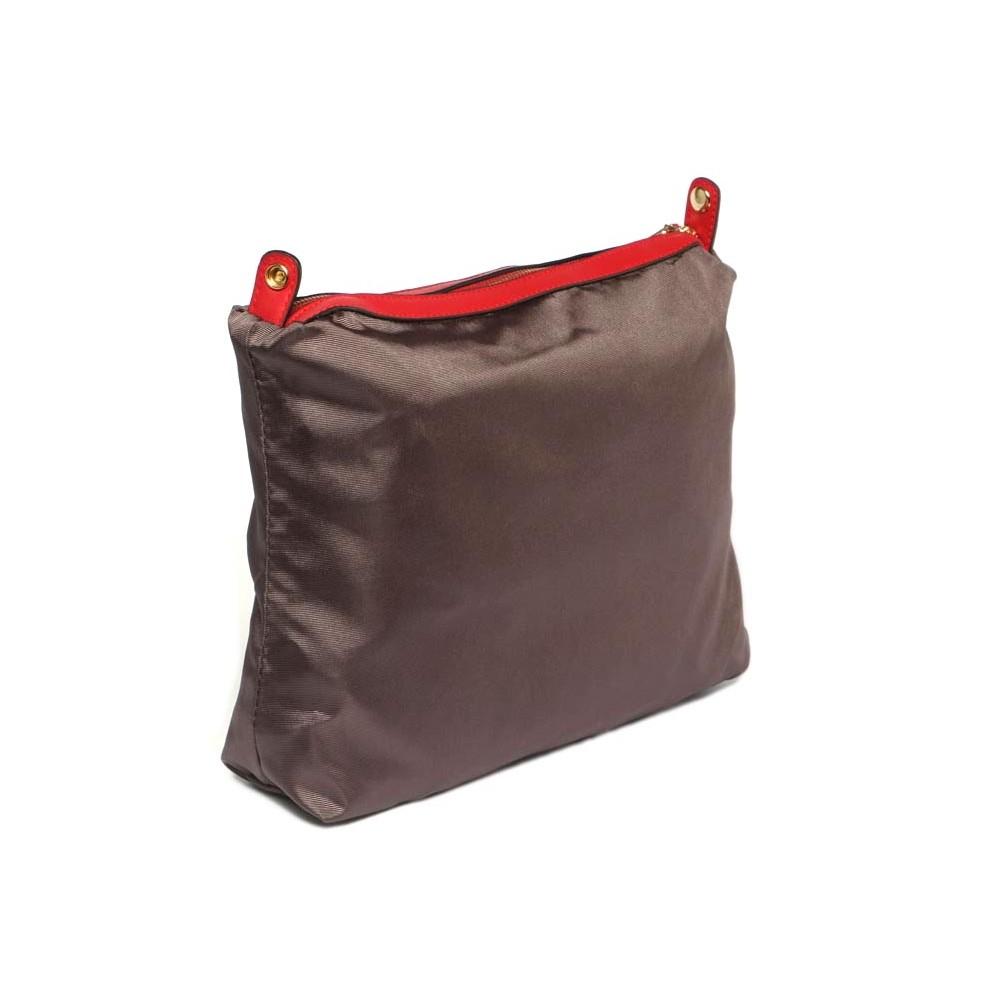 sac cabas rouge sac bandouli re femme avec pochette livr en 48h. Black Bedroom Furniture Sets. Home Design Ideas