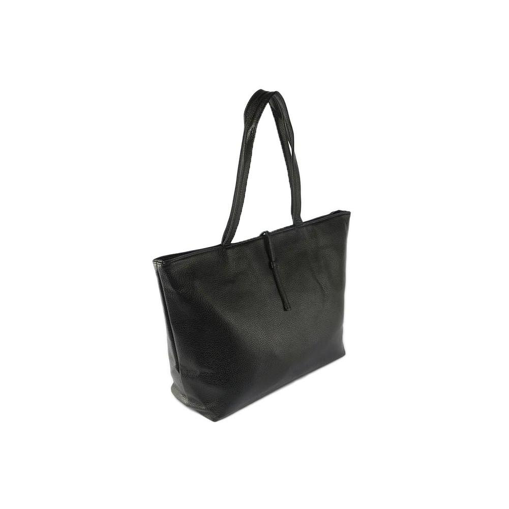 sac main noir tendance molly sac cabas port paule chic livr 48h. Black Bedroom Furniture Sets. Home Design Ideas