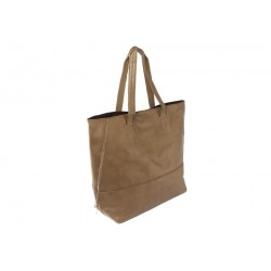 Grand Sac Cabas Marron Layna