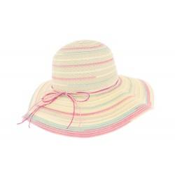 Chapeau rose femme été Noly Herman