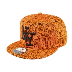 Casquette Enfant Brook Orange de 7 à 11 ans
