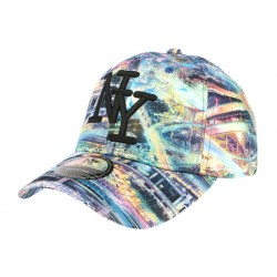 Casquette baseball Bleu Fashion Tower