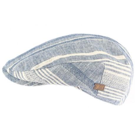 Casquette plate Bleu clair Edring Bailey