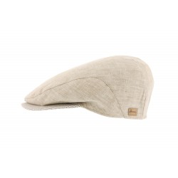 Casquette lin beige Discovery
