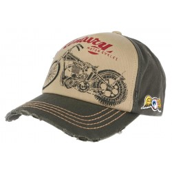 Casquette Von Dutch Verte Retro Cent