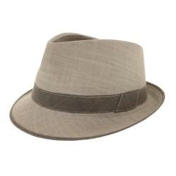 Chapeau coton Jo gris
