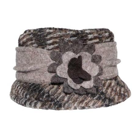 Chapeau Kéa en polaire gris