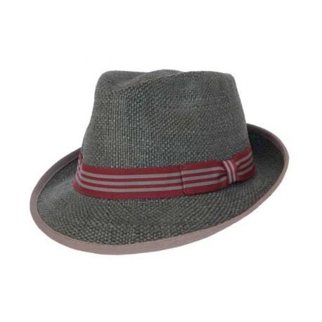 Chapeau de paille Icon gris
