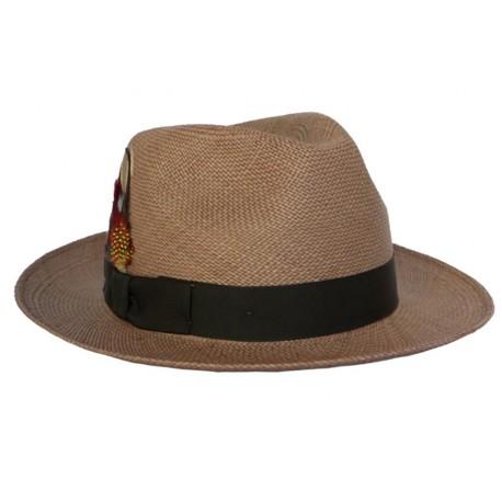 Chapeau Panama Christys' Brisa Marron