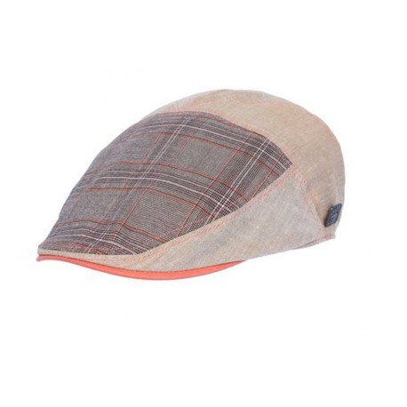 Casquette Goa coloris beige gris orange