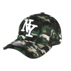 Casquette Baseball Camouflage Forest