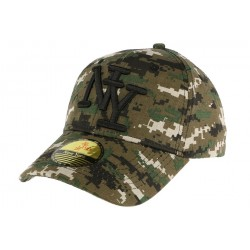 Casquette baseball Camouflage Storm