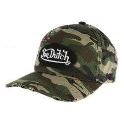 Casquette Von Dutch Camouflage Armee