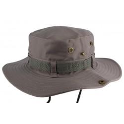 Chapeau Bob safari Gris Azzy