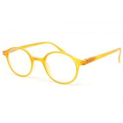 Lunette loupe ronde jaune transparent Flex