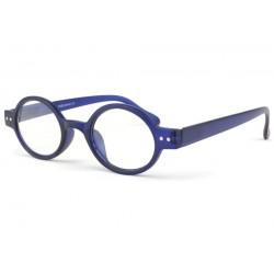 Lunette de lecture retro bleu Dok