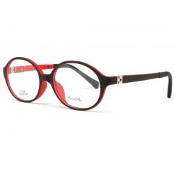 Monture lunette enfant rouge et noir 7 à 12 ans Kick