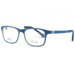 Monture lunette enfant bleu 7 a 12 ans Moon
