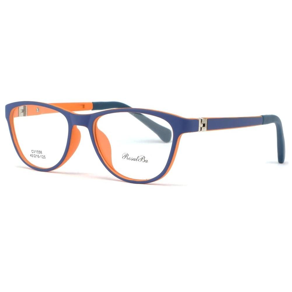 monture enfant bleu orange 7 12 ans smile lunette enfant livr 48h. Black Bedroom Furniture Sets. Home Design Ideas