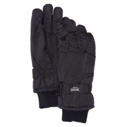 Gants de ski noir Thinsulate