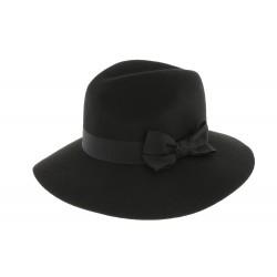 Chapeau feutre Noir Mac Garbo