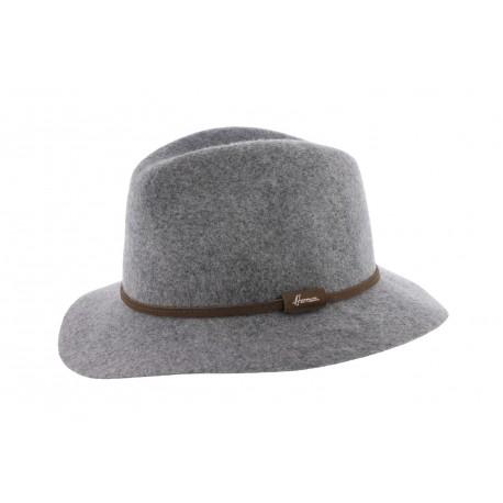 Chapeau en feutre Gris Macsoft