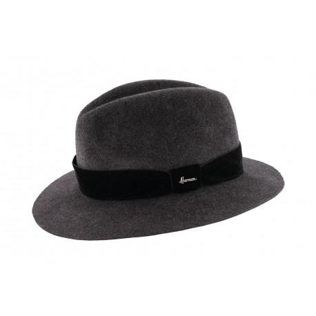 Chapeau feutre Gris Macwinston Herman