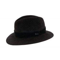 Chapeau Feutre Noir Macwinston Herman