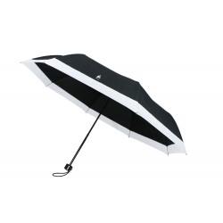 Parapluie Pliant Blanc et Noir Cloud