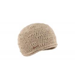 Bonnet tricot enfant beige Jalin Herman
