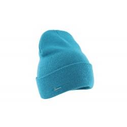 Bonnet enfant bleu laine Rolin Herman