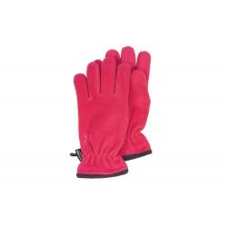 Gants femme polaire rose et thinsulate Herman