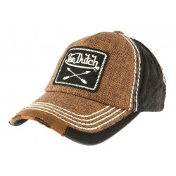 Casquette Von Dutch Marron Arrow