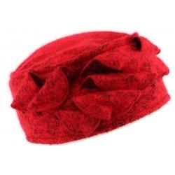 Bonnet toque laine rouge Bilba Léon Montane