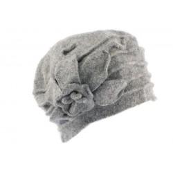 Beret toque laine grise Myria Léon Montane
