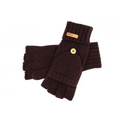 Gants Mitaine et Moufle Coal Cameron Prune