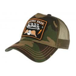 Casquette Von Dutch Electric Road armee