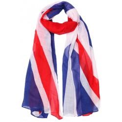 Grande écharpe drapeau anglais Nyls Creation