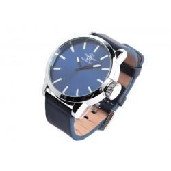 Grosse montre bleue homme Korkex Michael John