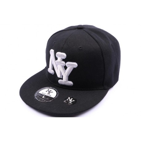 Casquette fitted Noir