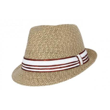 Nyls Création chapeau de paille Arcadia écru